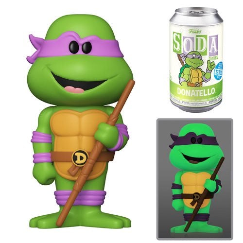 Funko Vinyl Soda TMNT Donatello With Chance At A (GITD) Chase
