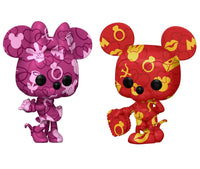 **Pre-Order** Funko Pop Disney Mickey and Minnie Mouse Artist Series 2 Pack ( Amazon Exclusive) Not valid for free shipping
