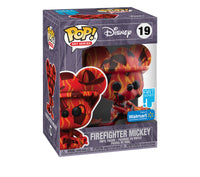 Funko Pop Disney Firefighter Mikey Artist Series (Walmart Exclusive) Not valid for free shipping