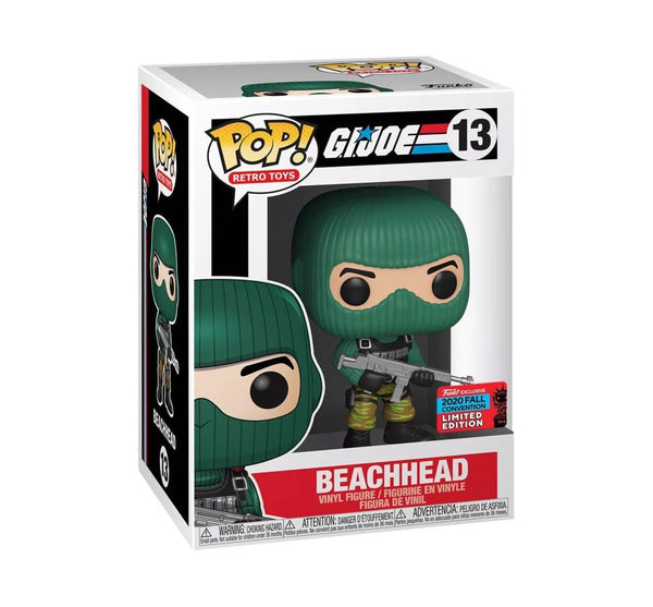 ** Pre-Order ** Funko Pop Retro Toys G.I Joe Beach Head (NYCC 2020 Shared Exclusive)