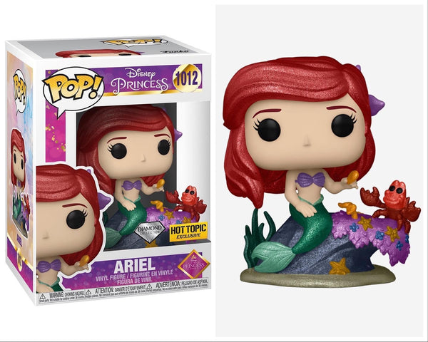 **Pre-Order** Funko Pop Disney's Ultimate Princess Diamond Collection Ariel (Hot Topic Exclusive) Not valid for free shipping