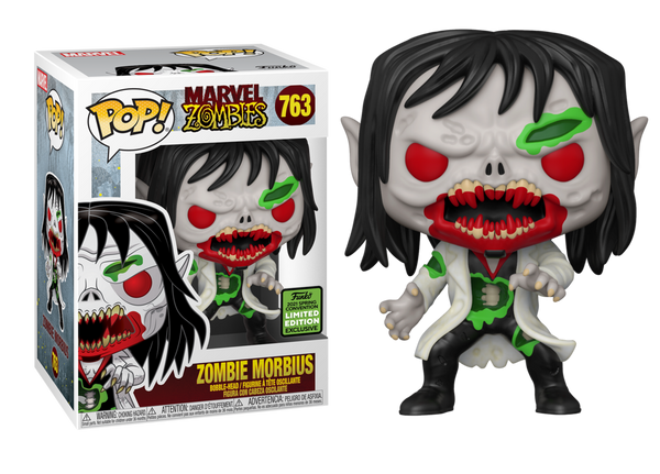 **Pre-Order** Funko Pop Marvel Zombies Morbius (2021 ECCC Shared Sticker) Not valid for free shipping