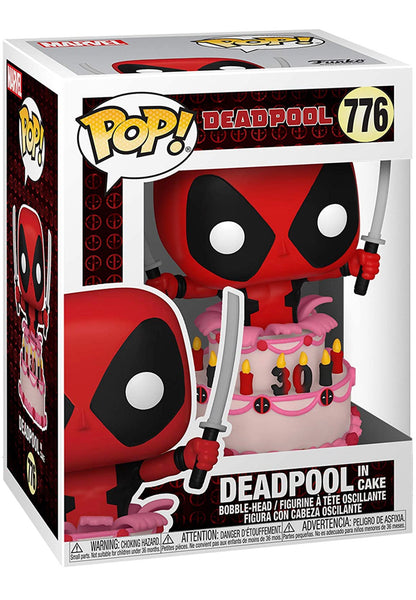 **Pre-Order** Funko Pop Marvel Deadpool (Deadpool in cake)