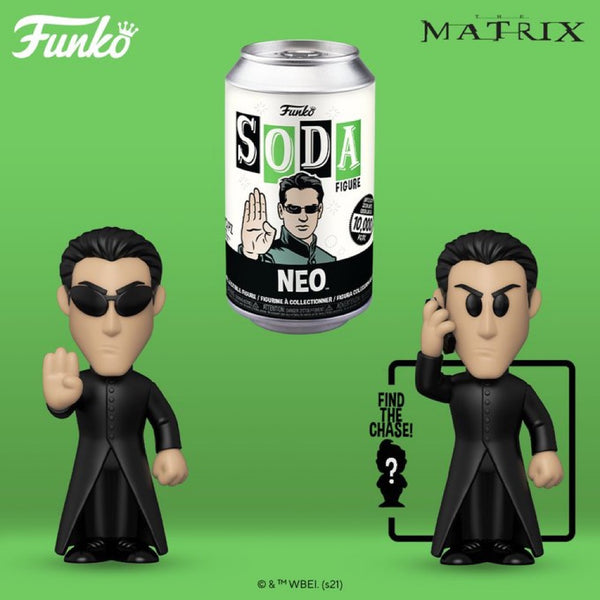 **Pre-Order Funko Pop Vinyl Soda The Matrix Neo with chance at the chase