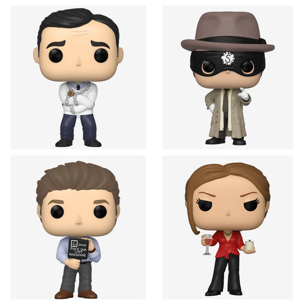 ** Pre-Order ** Funko Pop TV! The Office Bundle of 4