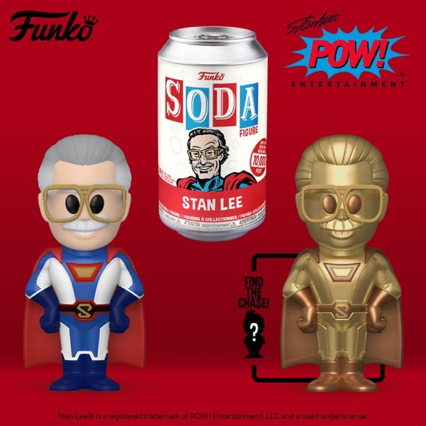 **Pre-Order** Funko Vinyl Soda Stan Lee  with chance at the chase