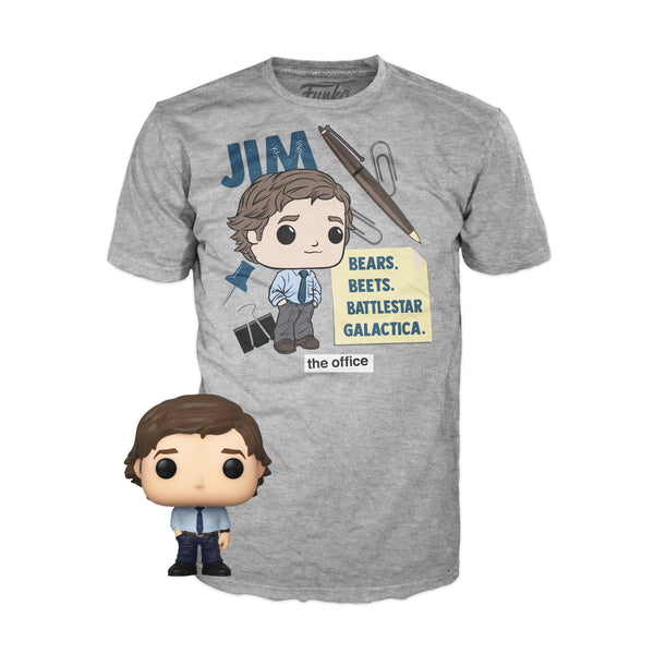 **Pre-Order** Funko Pocket POP & Tee The Office Jim