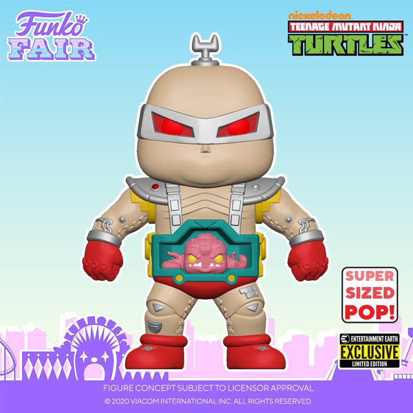 "**Pre-Order** Funko Pop Retro Toys Teenage Mutant Ninja Turtles 6"" Krang (Entertainment Earth Exclusive) Not valid for free shipping"