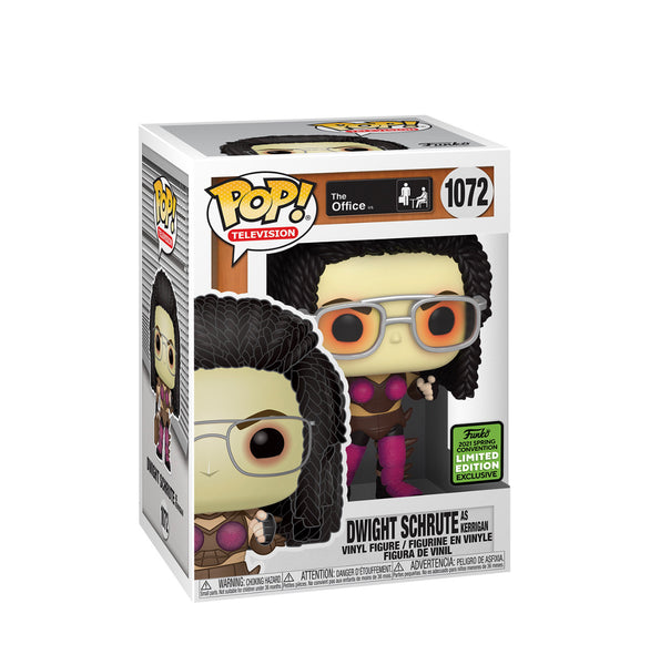 **Pre-Order** Funko Pop TV! The Office Dwight as Kerrigan (2021 ECCC Shared Sticker)