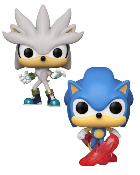 Funko Pop Games Sonic The Hedgehog 30th Anniversary Bundle of 2