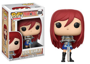 ** Pre-Order ** Funko Pop Animation Fairy Tail Ezra Scarlet