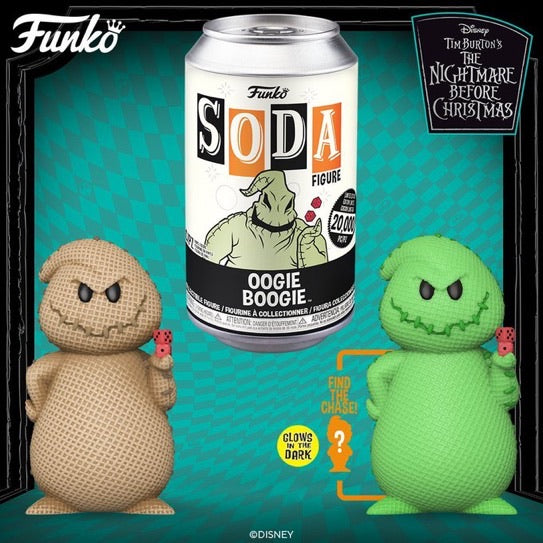 Funko Soda NBC Oogie Boogie with chance of chase