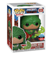 ** Pre-Order **  Funko Pop Television Masters of the Universe King Hiss (NYCC 2020 Shared Exclusive)