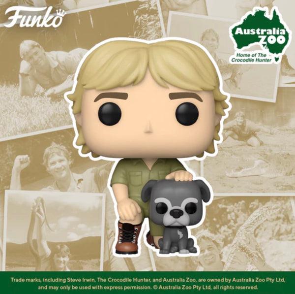 **Pre-Order** Funko Pop Ad Icons Steve Irwin with Sui