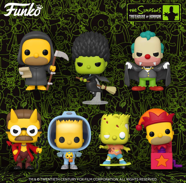 Funko Pop Animation The Simpsons Bundle of 7 (Enter Free Shipping in the Promo box at checkout valid in the USA only)