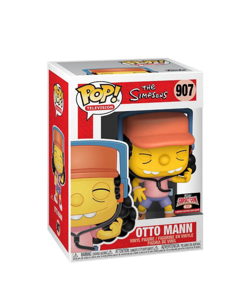 Funko Pop TV! The Simpson Otto (TargetCon Exclusive) Not valid for free shipping