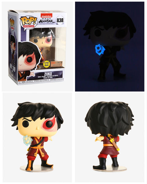 Funko Pop Animation Avatar Zuko GITD (BoxLunch Exclusive)