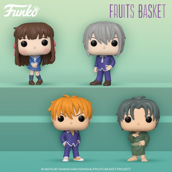 ** Pre-Order **  Funko Pop Animation Fruit Baskets Bundle of 4