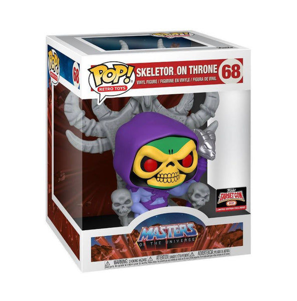 "Funko Pop Retro Toys Masters of The Universe 6"" Skeletor on Throne (TargetCon Exclusive) Not valid for free shipping"