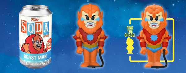 **Pre-Order** Funko Vinyl Soda Masters of the Universe Beastman with a chance at the chase