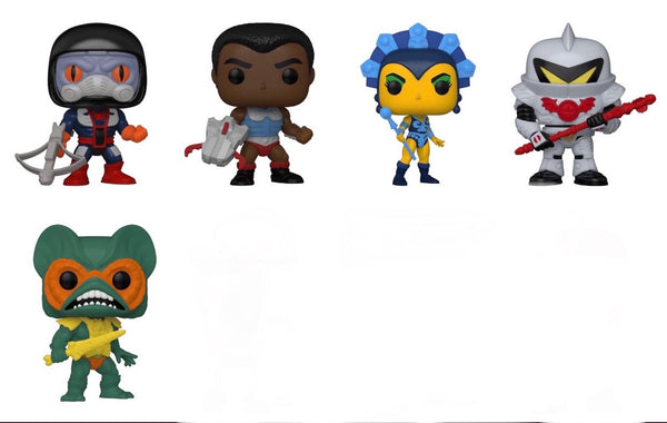 **Pre-Order** Funko Pop  Masters of the Universe Bundle of 5