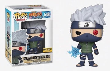 Funko Pop Animation Naruto Kakashi Lightning Blade (Hot Topic Exclusive)