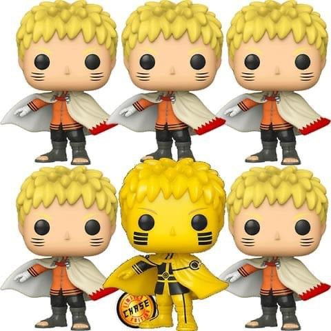**Pre-Order** Funko Pop Animation Naruto Next Generations Naruto Hokage 6 pack (AAA Anime Exclusive Bundle) Not valid for free shipping