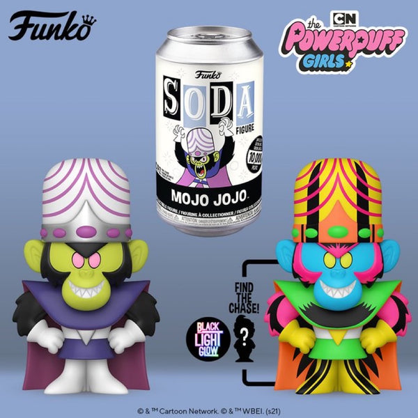 **Pre-Order** Funko Pop Vinyl Soda Powerpuff Girls Mojo Jojo with chance at the chase