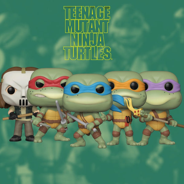 Funko Pop Vinyl TMNT Bundle of 5
