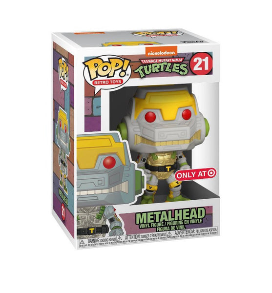 Funko Pop Retro Toys Teenage Mutant Ninja Turtles Metalhead (Target Exclusive)