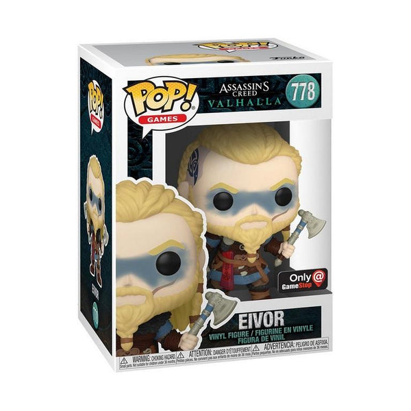 **Pre-Order** Funko Pop Games Assassin's Creed Valhalla Eivor with Double Axe (GameStop Exclusive) Not valid for free shipping