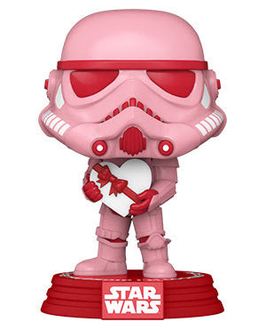 **Pre-Order** Funko Pop Star Wars Valentine Edition Stormtrooper With Heart