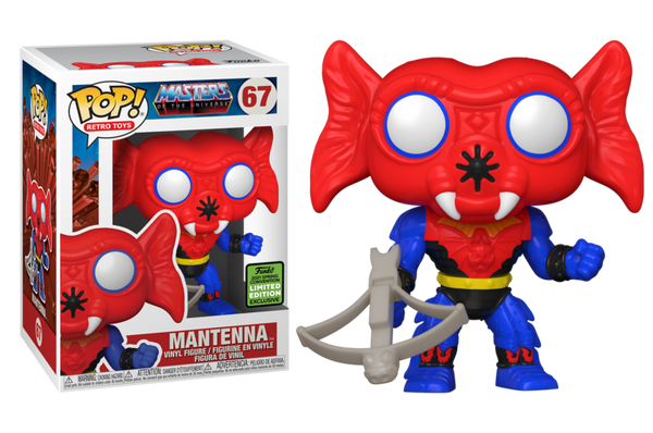 **Pre-Order** Funko Pop Television Masters of The Universe Mantenna (2021 ECCC Shared Sticker)