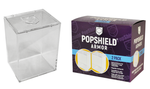 Pop Shield Armor protector with magnetic lid (2 pack) not valid for free shipping.