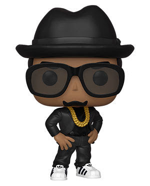 Funko Pop Rocks RUN DMC (DMC)