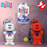 Funko Pop Vinyl Soda Ghostbusters Stay Puff with chance at chase (Wave 8)