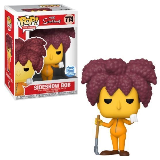 Funky Pop TV! The Simpsons Sideshow Bob (Funko Shop Exclusive) Excluded from free shipping