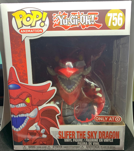 "Funko Pop Animation Yu-Gi-Oh  6"" Slifer the Sky Dragon (Target Exclusive)"