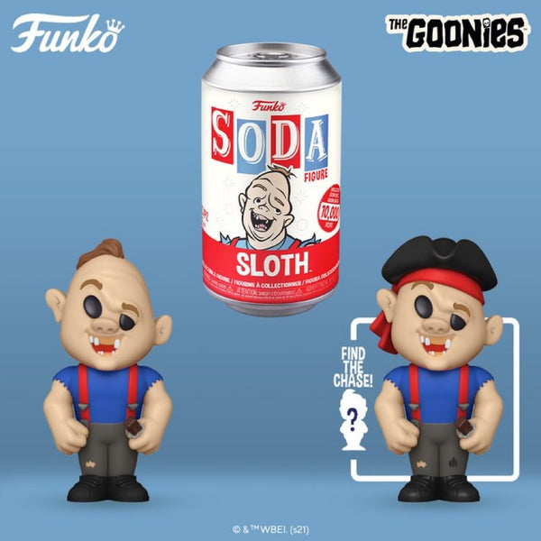 **Pre-Order Funko Pop Vinyl Soda The Goonies Sloth with chance at the chase