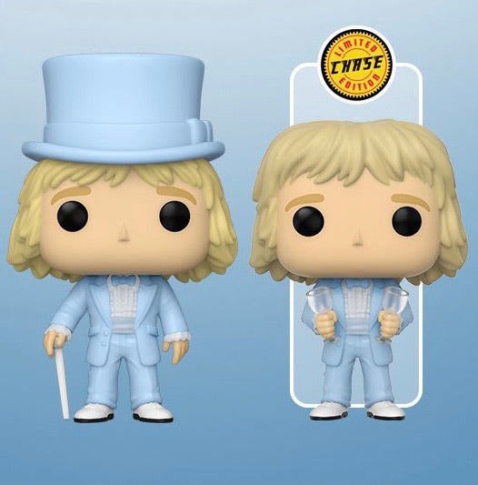 Funko Pop Movies Dumb & Dumber Harry in Tux Bundle (Chase+Common)