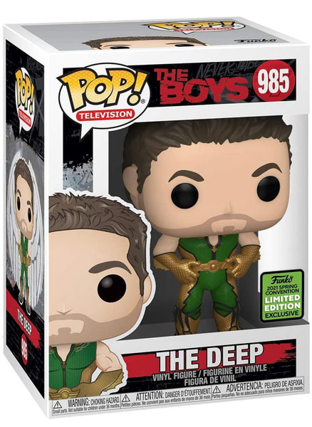 **Pre-Order** Funko Pop TV! The Boys The Deep (2021 ECCC Shared Exclusive) Not valid for free shipping
