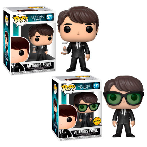 Funko Pop Artemis Fowl Artemis Bundle (Chase + Common)