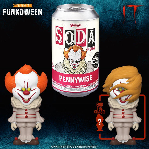 Funko Soda IT Pennywise with a chance at the chase