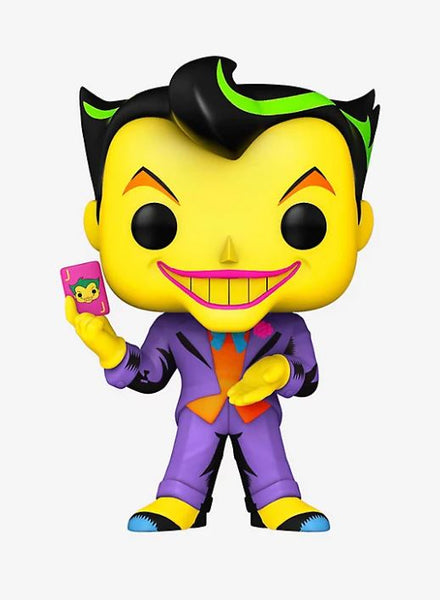 Funko Pop  D.C. Joker (Black Light) Hot Topic Exclusive