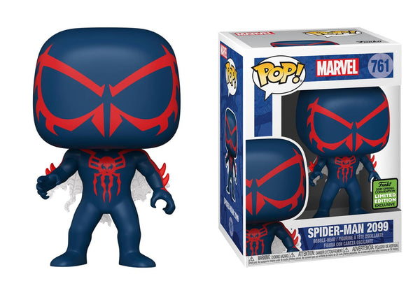 Funko Pop Marvel Spider-Man 2099 (2021 ECCC Shared Sticker) Not valid for free shipping