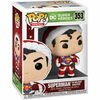 Funko Pop D.C. Holiday Superman with sweater