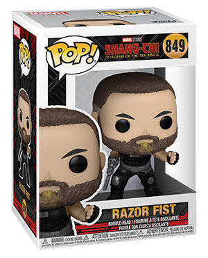 **Pre-Order** Funko Pop Marvel Shang-Shi and the Legend of the Ten-Rings Razor Fist