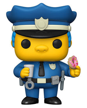 Funko Pop Animation The Simpsons Chief Wiggum