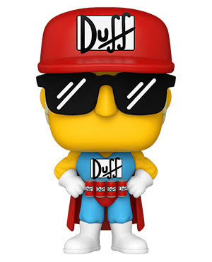 Funko Pop Animation The Simpsons Duffman