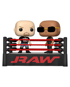 **Pre-Order** Funko POP Moment: WWE- The Rock vs Stone Cold in Wrestling Ring ETA Early March